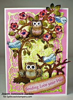 CT0116 Sending Love Your Way by Castlepark - Cards and Paper Crafts at Splitcoaststampers
