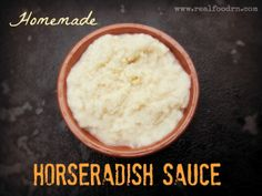 Guest post by my wonderful husband, who prepares our horseradish. My in-laws raise pigs every other year the right way. The pigs are allowed to gra Homemade Horseradish, Fresh Horseradish, Horseradish Sauce, Growing Horseradish, Homemade Bloody Mary Mix, Slow Cooked Pulled Pork, Whole Food Recipes, Paleo Recipes, Paleo Ideas
