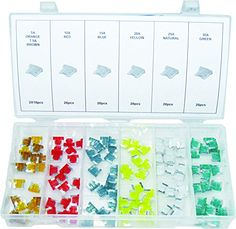 Swordfish 51150 Low Profile Mini Fuse Assortment 120 Piece -- Continue to the product at the image link.
