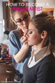 Some people may think becoming a makeup artist is an easy thing but it isn't always the case! Here are some great tips for getting started including finding local beauty schools for free! #makeupartist #cosmetologycareer