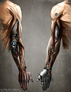 Mechanic Arm by ThoRCX.deviantart.com on @deviantART