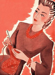 Cover of a Canadian How To Knit Book (found on http://www.agoodyarn.net/T-ShirtsMain.htm)