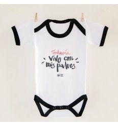 Feliz Día Papá 1st primera padres chicos Divertido Bebé Regalo De Body Bebé Crecen Chaleco