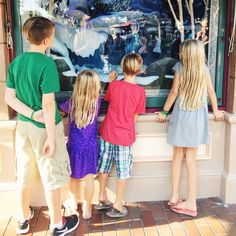 """The windows on Main Street in Disneyland have always been pure magic to me. And now I get to see my kids experience the same magical moments. #parentingrocks {Last week one of my friends called to see if we wanted to do a Disney day and my gut response was """"No! I've got so much schooling to do. Then I was reminded that freedom to enjoy time with my kiddos is one reason we decided to home school in the first place! To Disney we went and memories were made. And guess what? We still were able…"""