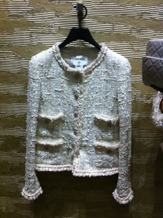 A classic tweed Chanel jacket- top of my fashion bucket list.