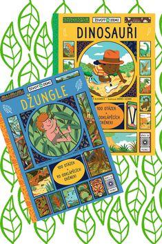 V džungli se stále něco děje! Odklop 70 okének a zjisti, kde se rozkládají džungle a jak vypadá jejich úžasný svět zvířat, hmyzu a rostlin. #kniha #encyklopedie #kniha #deti #oteviraciokenka