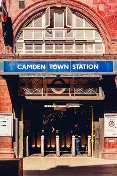 Camden Market in London London Boroughs, Camden Town, England, Travel, Viajes, Destinations, Traveling, Trips, English