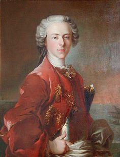 Louis Tocqué, 1736, Ritratto di Frederik de Løvenørn