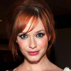 Makeup tips for redheads: Christina Hendricks http://beautyeditor.ca/2011/03/28/reader-question-channeling-amy-adams-or-christina-hendricks-makeup-tips-for-natural-and-not-so-natural-redheads/