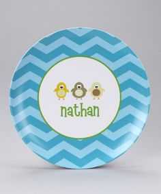 adorable customized plates :)