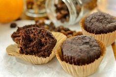 Muffins de algarroba y zanahoria