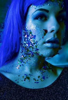 alien girl  -I love this for a Halloween Costume
