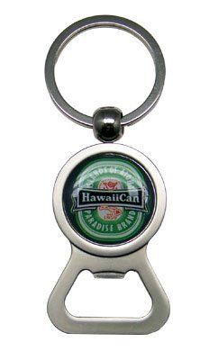 """Metal Bottle Opener Key Chain / Hawaii Can by KC. $3.99. Measures 2"""" long. Handy key chain and bottle opener all in one"""