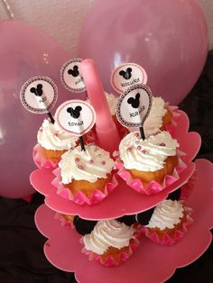 Mickey&minnie party idea