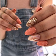 39 Trendy Fall Nails Art Designs Ideas To Look Autumnal & Charming autumn nail art ideas fall nail art short nail art designs autumn nail colors dark nail designs coffin nails Dark Nail Designs, Nail Designs Pictures, Fall Nail Art Designs, Colorful Nail Designs, Nails Pictures, Nail Pics, Latest Nail Designs, Almond Nails Designs, Colorful Nails