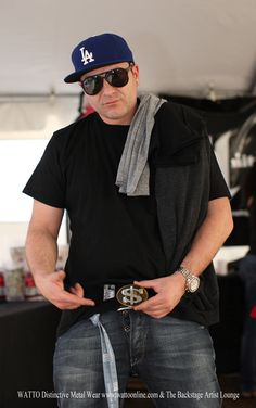 DJ Lethal of Limp Bizkit with WATTO Distinctive Metal Wear dollar sign belt buckle. https://www.etsy.com/listing/26008479/dollar-buckledistressed-metal-dollar?ga_search_query=dollar%2Bsign_search_type=user_shop_ttt_id_5555460