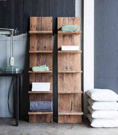 Whether for family pictures, cookbooks, or clothes, you can never have enough shelf space, and the Unysn Elm Shelf is simply gorgeous in their simplicity. Choose to simply lean these open shelves agai