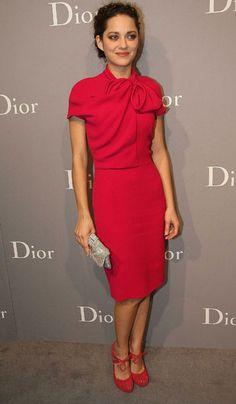 """¿Sabias que Marion Cotillard ganó un Óscar con la película """"La vida en rosa""""? Es preciosa, tenéis que verla."""