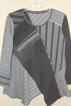 Pat Congleton - Recycled T-shirt - Butterick #6287