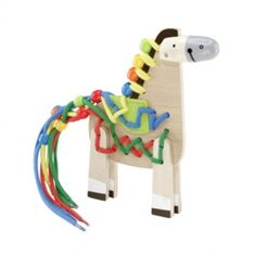 Hape Rijgpaard - Kralen rijgen maar dan net even leuker!