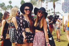 KayKay  Madeline from Sugar  Spice at #Coachella2014. #GarageFestival