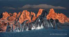 Il fotografo PIERLUIGI ORLER interpreta Ice Skyline di Marco Nones - Latemar, Pampeago
