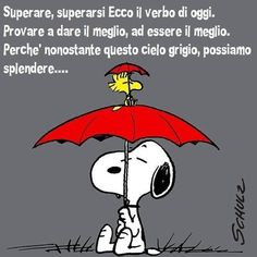 Buongiorno Piove Peanuts Gang, Woodstock, Vignettes, Comics, My Love, Fictional Characters, Charlie Brown, Friends, Disney