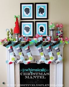 20 Holiday Mantels and Decor ideas