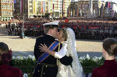 Prince Willem-Alexander and Princess Maxima celebrate their 12th wedding anniversary.