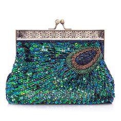 Einzigartige Funkelnde Glitzer mit Perlen verziert/Pailletten Handtaschen (012026247)