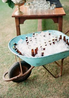 Chris & Lauren: Cabo, Mexico | Perfect way to keep beer cold! Clayton Austin. Fine Art Film Photographer. Available Worldwide.