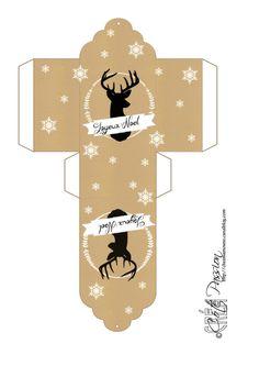 Pochette tag Deer Coté Passion