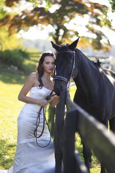 The only way I'm getting married is If my (future) horse is right by my side!