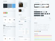 Here's the result of treating every pixel like our lives depended on it. We've created a UI kit using only 4 colors all related to one another and just 5 character sizes.   We love working with sca...