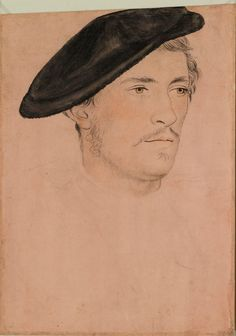 An unidentified man ~ 16th century, artist was a follower of Hans Holbein the Younger