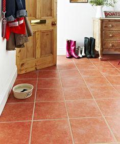 Cora Terracotta Floor Tile