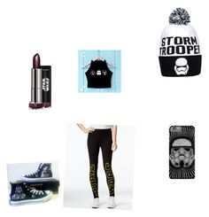 The Perfect Dark Side Outfit #rebels side by kaywisorbet on Polyvore featuring polyvore, fashion, style, Hybrid and Converse