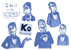 Kowalski. Pinning for that face in the middle... It's SO him