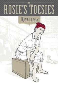 Modern Rosie the Riveter