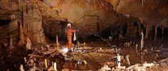 """L'homme de Neandertal a exploré et aménagé la grotte de Bruniquel, en France, il y a 176 500 ans. Jusqu'ici, la plus ancienne preuve formelle de """"vie souterraine"""" datait d'il y a 38 000 ans. Ces constructions sont donc parmi les plus anciennes de l'histoire de l'Humanité. Elles ont été mises au jour par une équipe de chercheurs franco-belges."""