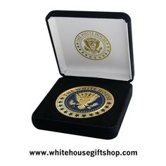 Gift Box Support Our Troops Embroidered Ornament Medallion