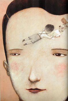 Bruno, il bambino che imparò a volare. Di Nadia Terranova, Orecchio Acerbo editore. Illustrazioni, Ofra Amit