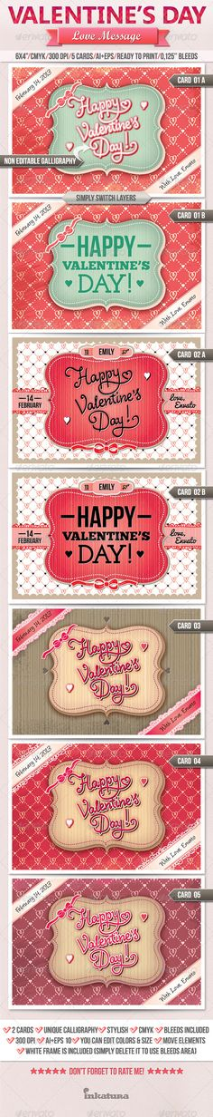 Brand new Love Message Valentine's Day Greeting Card.   Hurry up! :)