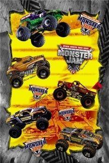 Monster Jam Stickers