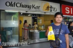 Streetfood Trippin' at Old Chang Kee in Singapore