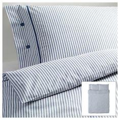 Sengetøj og lagner - Find pudebetræk og dynebetræk fra IKEA her Ikea Duvet Cover, Duvet Cover Sets, Comforter Cover, Home Bedroom, Bedroom Furniture, Ikea Bedroom, Gray Bedroom, Bedroom Ideas, Bedrooms
