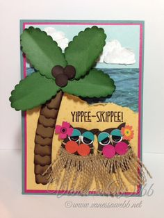 Stampin' Up! Grand Vacation Achievers Hawaii Bloghop - www.vanessawebb.net