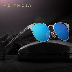 7dd50186f7b0 VEITHDIA Unisex Retro Aluminum Brand Sunglasses Polarized Lens Vintage  Eyewear Accessories Sun Glasses Oculos For Men Women 6109