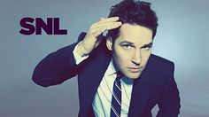 Paul Rudd great on SNL,but his movies are so funny. Snl Host, Saturday Night Life, Paul Rudd, Funny People, Cute Guys, Celebrity Crush, Role Models, Beautiful Men, Beautiful People
