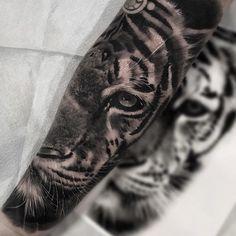 Tiger tattoo by Jp Alfonso